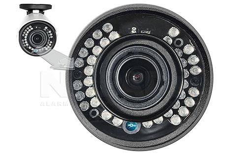 Kamera z oświetlaczem na podczerwień.