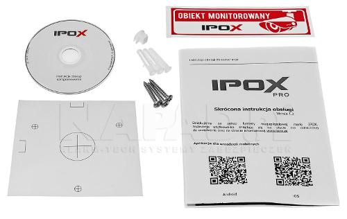 PX-TVIP2036-P - Akcesoria kamery.