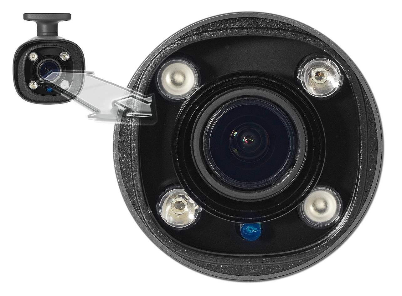 Kamera IPOX z wbudowanym oświetlaczem IR.
