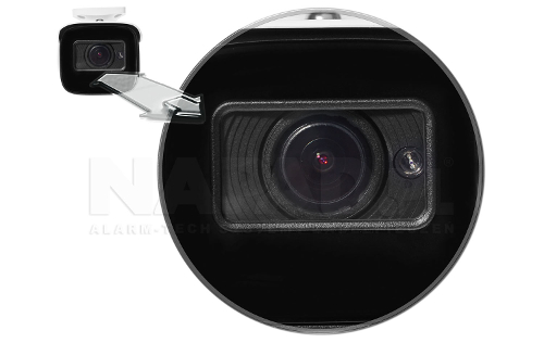Kamera z oświetlaczem podczerwieni Black Glass.