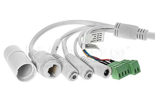 PX-TZIP4025AS-P - Kable połączeniowe kamery megapikselowej.