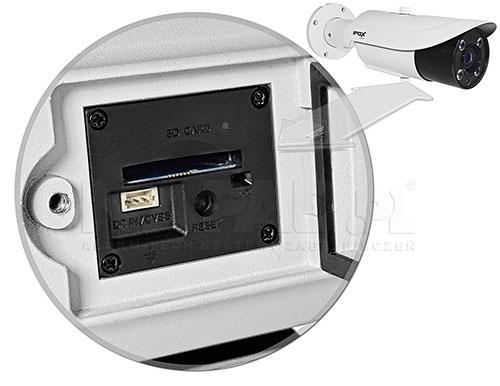 PX-TZIP4025AS-P - Slot kart pamięci microSD i gniazdo monitora serwisowego.