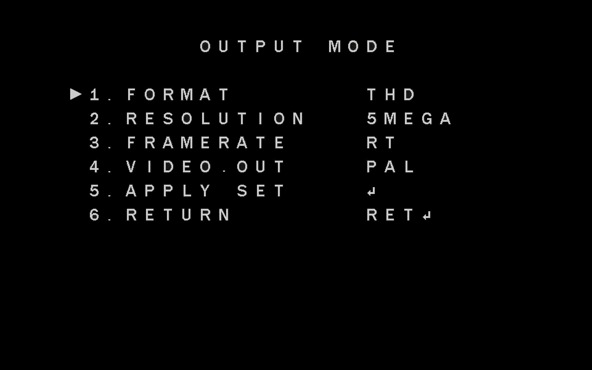 Zmiana truby pracy kamery Analog HD.