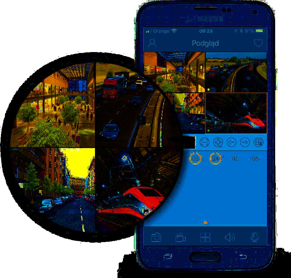 Aplikacja do monitoringu CCTV.