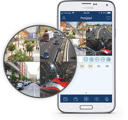 Darmowa aplikacja do monitoringu CCTV.