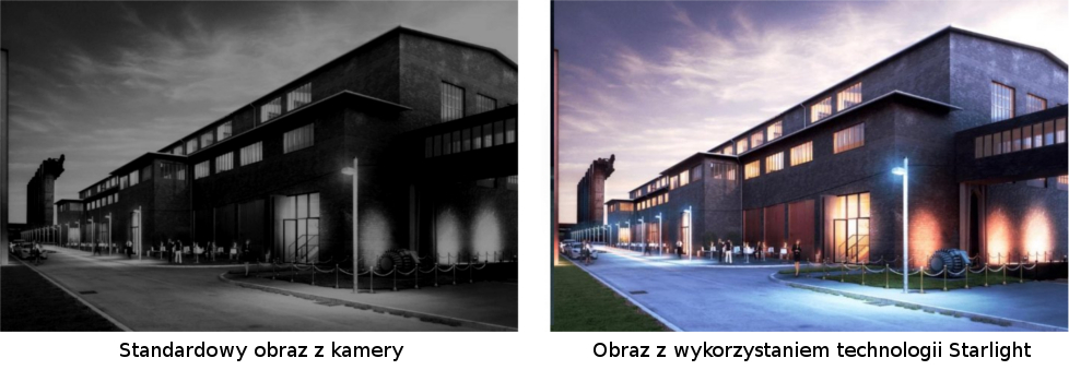 Technologia poprawy obrazu w słabych warunkach oświetlenia - STARLIGHT.