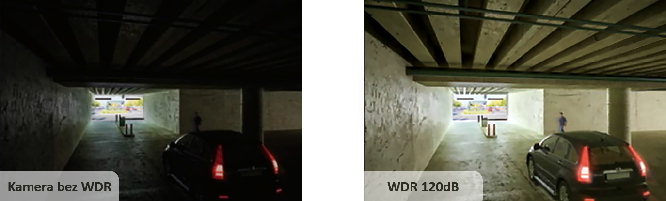 Funkcja WDR zapewnia czytelność całości obserwowanej sceny.