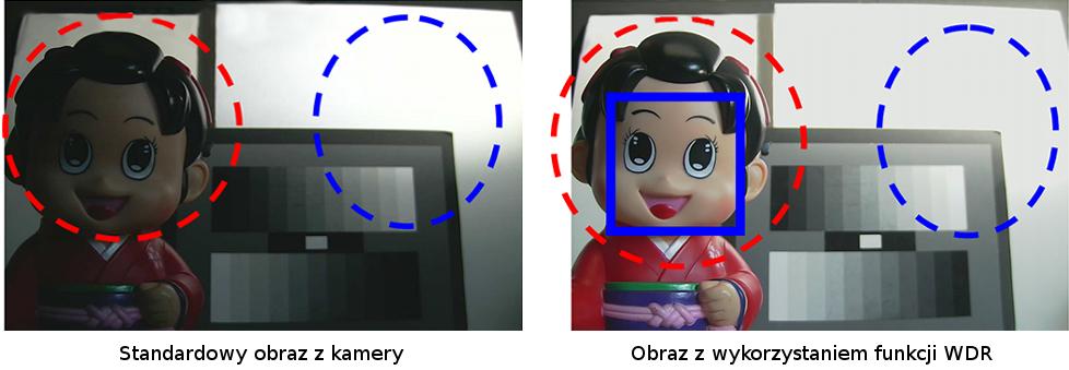 Sprzętowy zakres dynamiki obrazu - WDR.