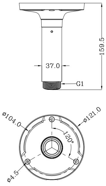 JB-806 - Wymiany uchwytu do podstaw montażowych IPOX.
