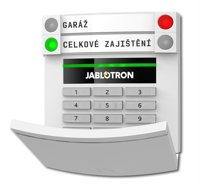 JA153E - Bezprzewodowa klawiatura z RFiD z 2 przyciskami JA192E