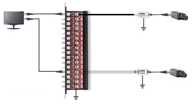 LHD-16R-PRO - Przykładowe zastosowanie zabezpieczenia.