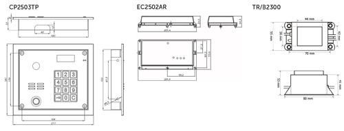 Wymiary - CD2503