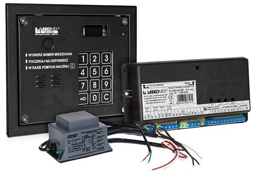 CD2503R - Przykład systemu domofonowego Laskomex.