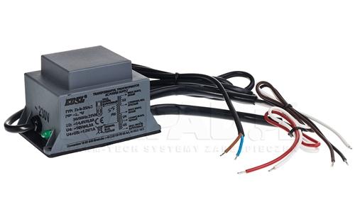 TRB-2303 - Wbudowany bezpiecznik termiczny.