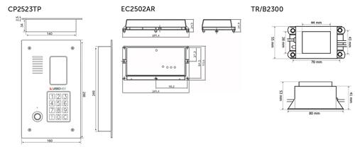 Wymiary - CD2523