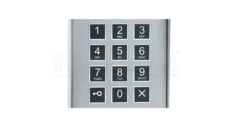 CD2600R - Przykład działania klawiatur w panelu Laskomex.