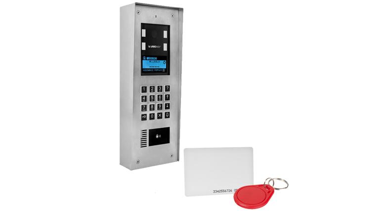 CD4000 - Panel z wbudowanym czytnikiem RFID.