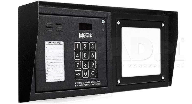 CP2502NP - Dodatkowe akcesoria panela domofonowego.