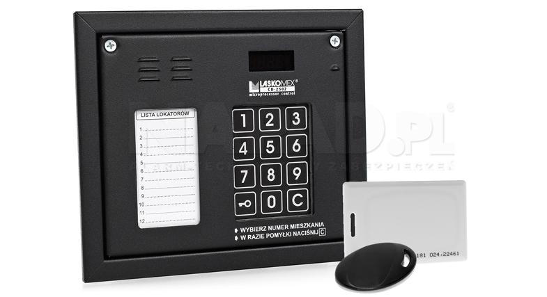 CP2502NR - Panel z wbudowanym czytnikiem RFID.