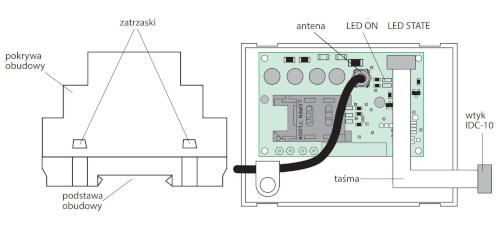 Schemat budowy modułu gsm - GSM-GS 510