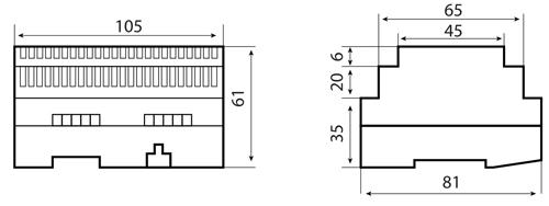 Wymiary MBZ40-3