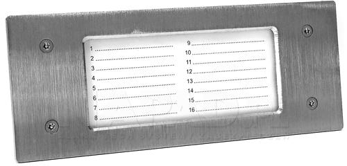 NP2511 - Wbudowane podświetlenie listy.