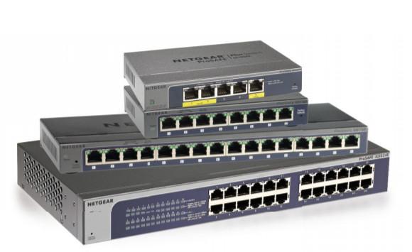 Seria przełączników Gigabit Ethernet Smart Managed