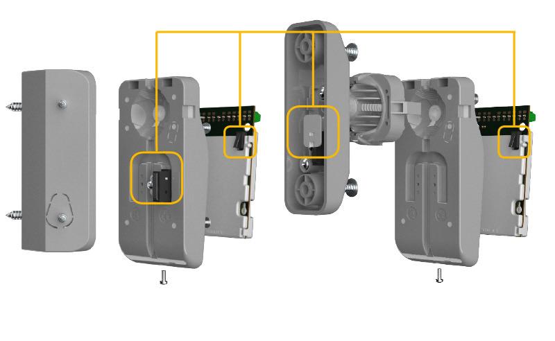 OPAL Pro / OPAL Pro GY - Ochrona antysabotażowa.