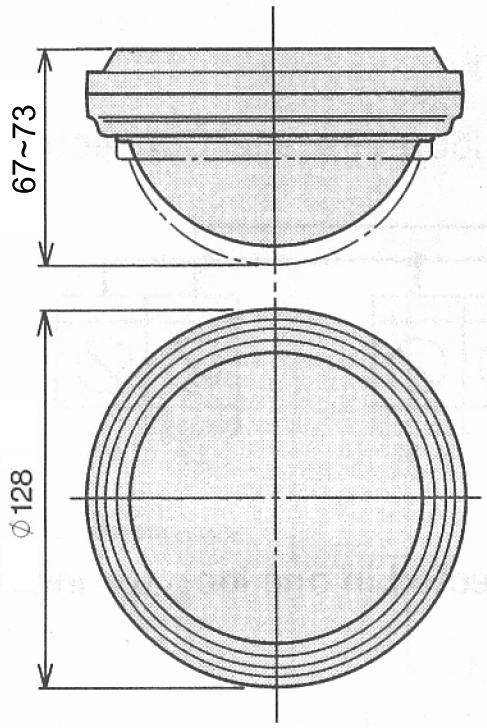 Wymiary czujnika SX-360Z.