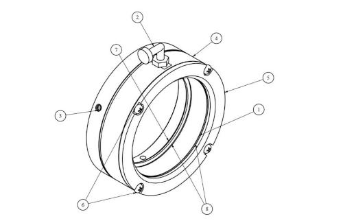 Opis bariery powietrznej BP-1