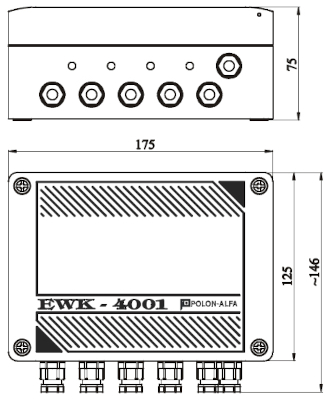 Wymiary EWK-4001