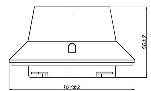Wymiary czytnika PUO-35