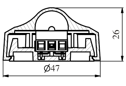 Wymiary wskaźnik zadziałania WZ31