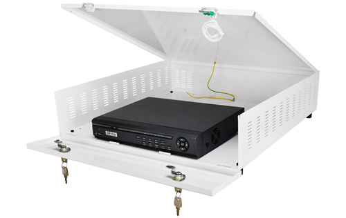 Przykładowa instalacja rejestratora w obudowie AWO471.
