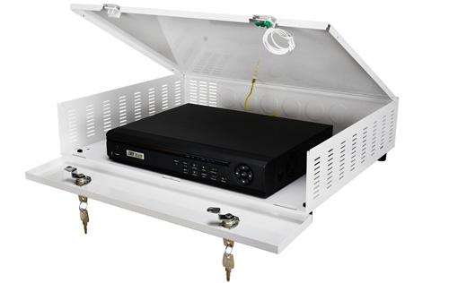Przykładowa instalacja rejestratora w obudowie AWO483.