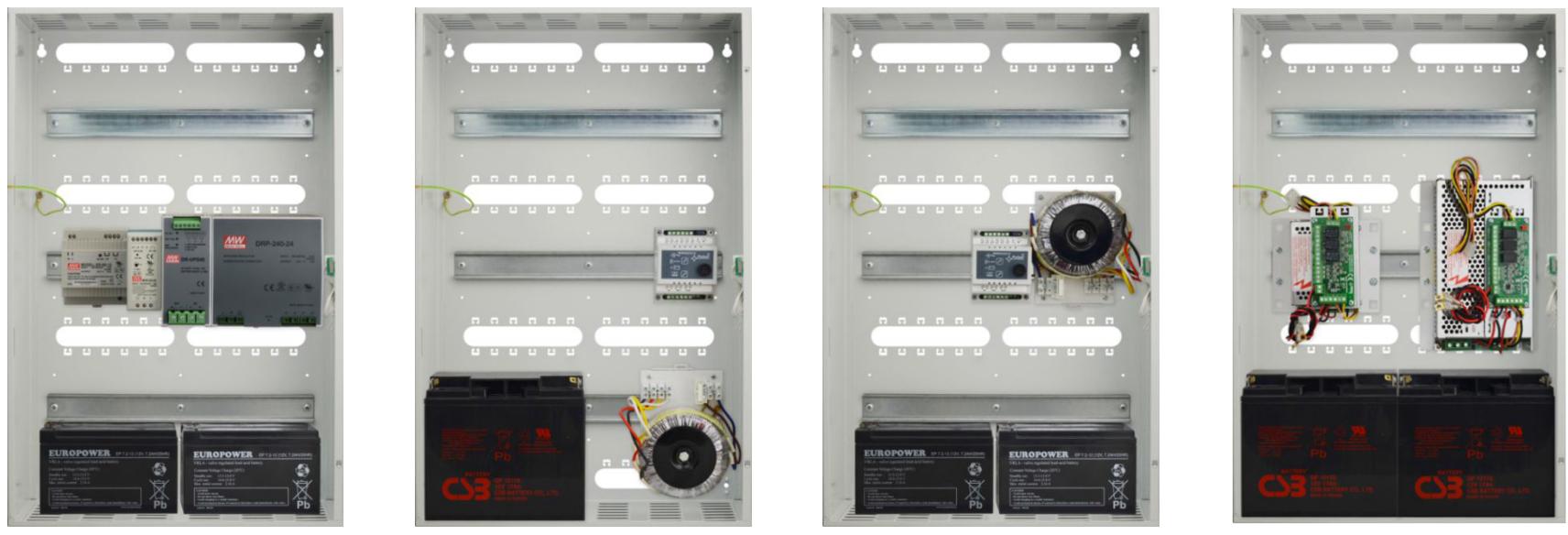 Pulsar AWO613 - Możliwość zamontowania zasilaczy i transformatorów.