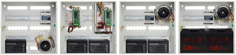 Pulsar AWO622 - Możliwość zamontowania zasilaczy i transformatorów.