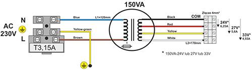 schemat elektryczny AWO034