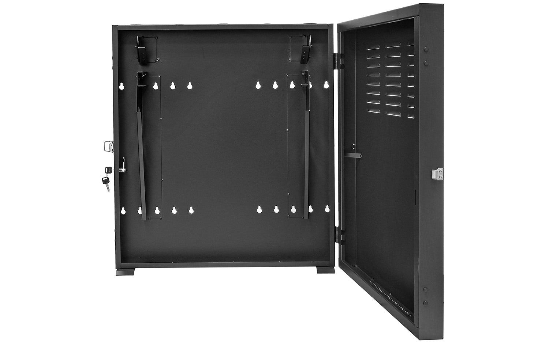 WP6702 - Otwierane na zewnątrz drzwi wykonane z blachy stalowej.
