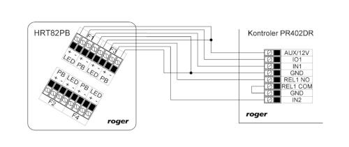 Schemat podłączenia HRT82PB