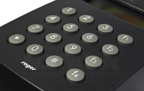 MCT68E-IO-I / MCT68E-IO-O - Wbudowana klawiatura w terminalu dostępowym.