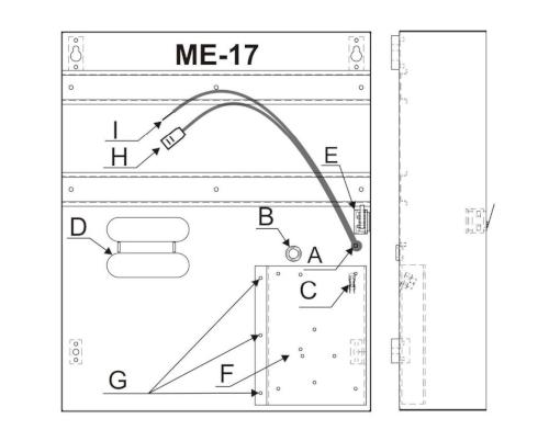 Elementy obudowy ME-16