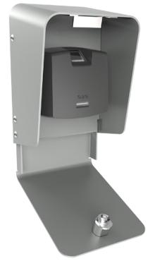 Czytnik RFT1000 zamontowany w obudowie ME-8