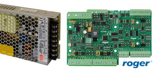 LRS-150-12 / PS8D - Współpraca z urządzeniami systemu kontroli dostępu RACS5.