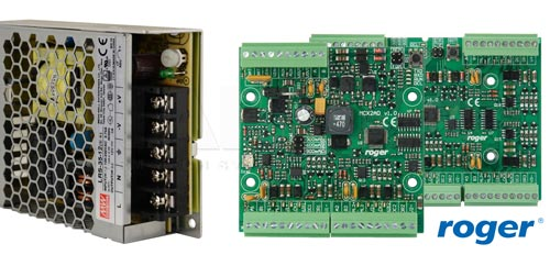 LRS-35-12 / PS2D - Współpraca z urządzeniami systemu kontroli dostępu RACS5.