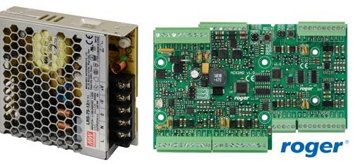 LRS-75-12 / PS4D - Współpraca z urządzeniami systemu kontroli dostępu RACS5.