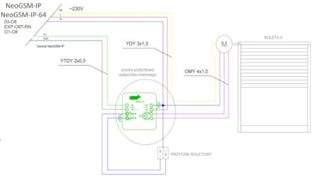 Schemat połączenia SROL-S
