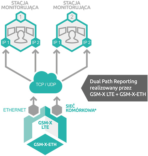 Dual Path Reporting - dwutorowy monitoring.