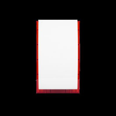 Zewnętrzny sygnalizator optyczno-akustyczny z zasilaniem awaryjnym