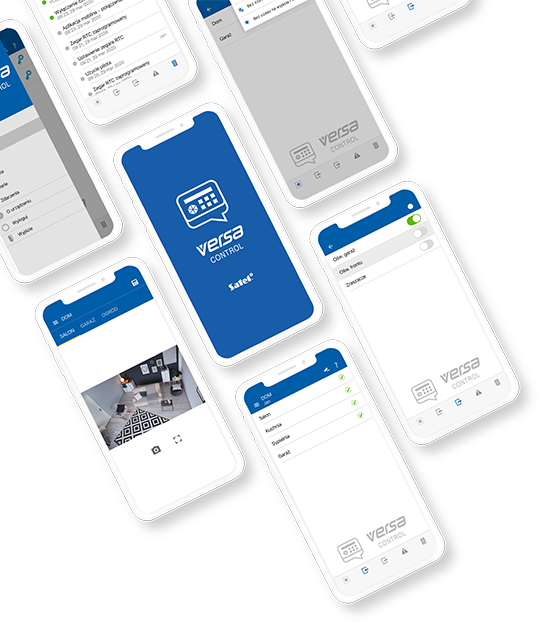 Aplikacja mobilna Versa Control